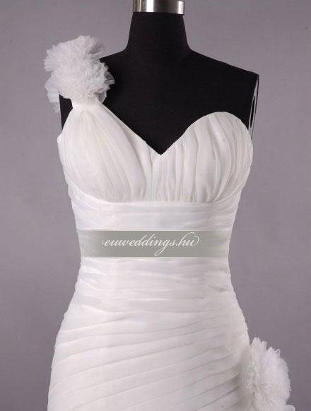 Esküvői ruha sellő fazonú pántos-SFP-10023