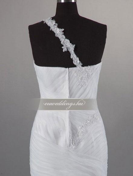 Esküvői ruha sellő fazonú pántos-SFP-10038