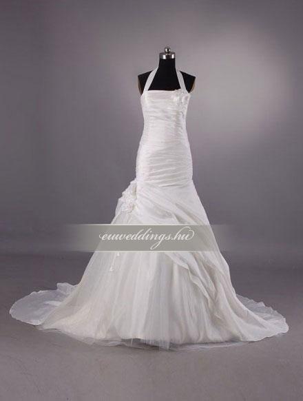 Esküvői ruha sellő fazonú pántos-SFP-10087