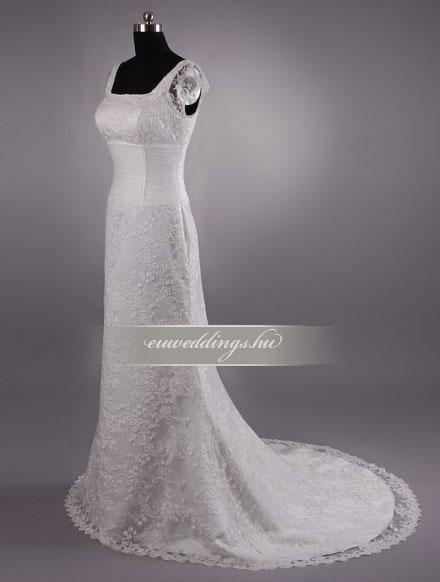 Esküvői ruha sellő fazonú pántos-SFP-10153