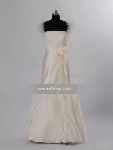 Esküvői ruha sellő fazonú pántos-SFP-10420