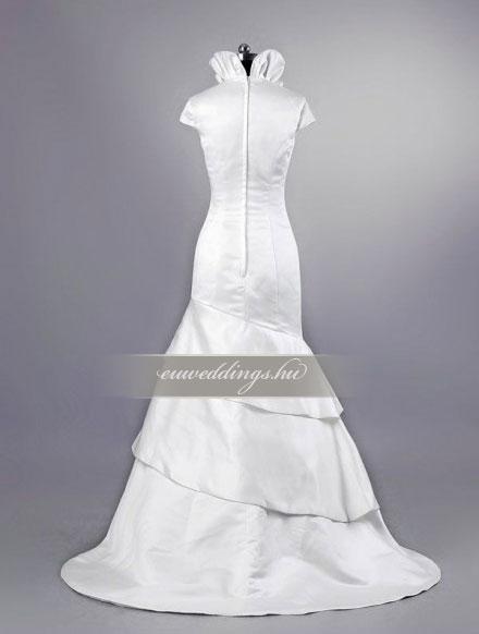Esküvői ruha sellő fazonú pántos-SFP-10453