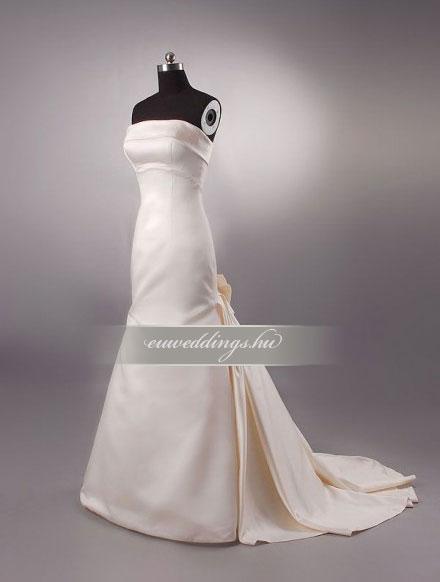 Menyasszonyi ruha sellő fazonú színes és mintás-SFS-10566