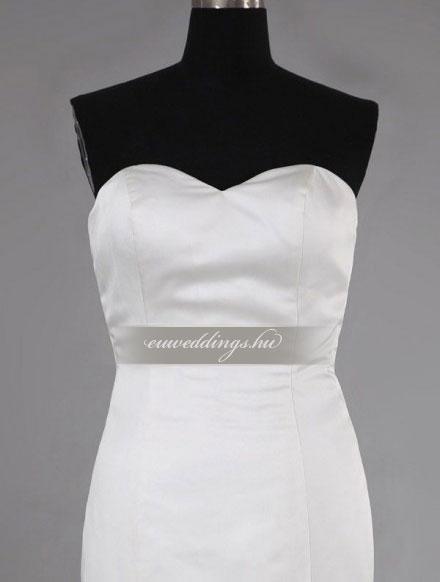 Menyasszonyi ruha sellő fazonú ujjatlan-SFU-11491