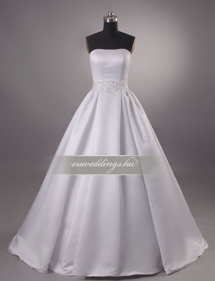 Esküvői, menyasszonyi ruha - A vonalú
