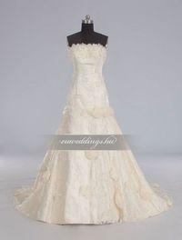 A-vonalú, színes és mintás menyasszonyi ruhák