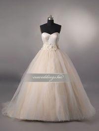 Báli fazonú színes és mintás esküvői ruhák