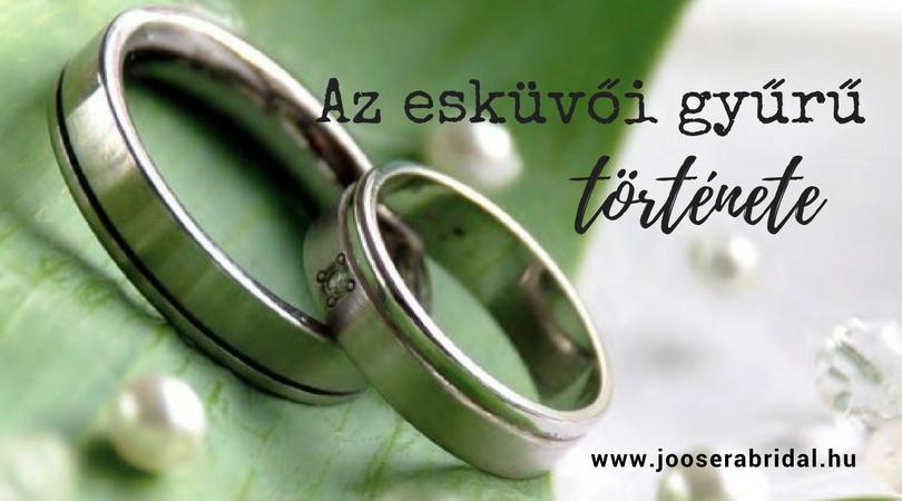 Az esküvői gyűrű története
