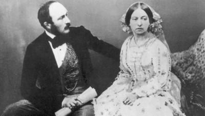 Viktória királynő és Albert