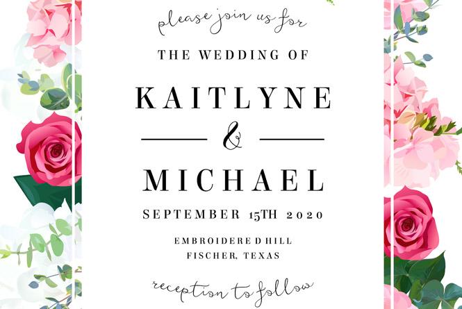 Az esküvői meghívó alapszabályai