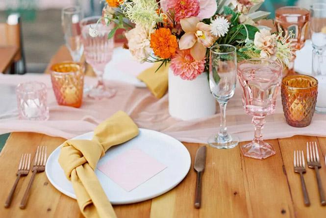 5 tavaszi esküvői dekoráció trend